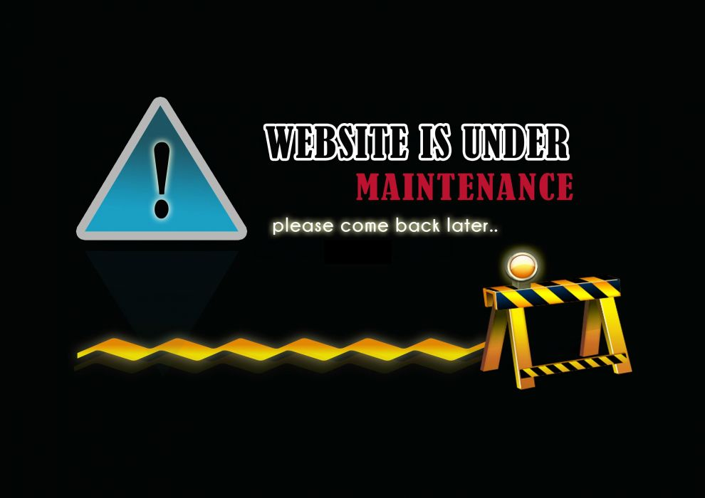 Website is under maintenance - please come back later