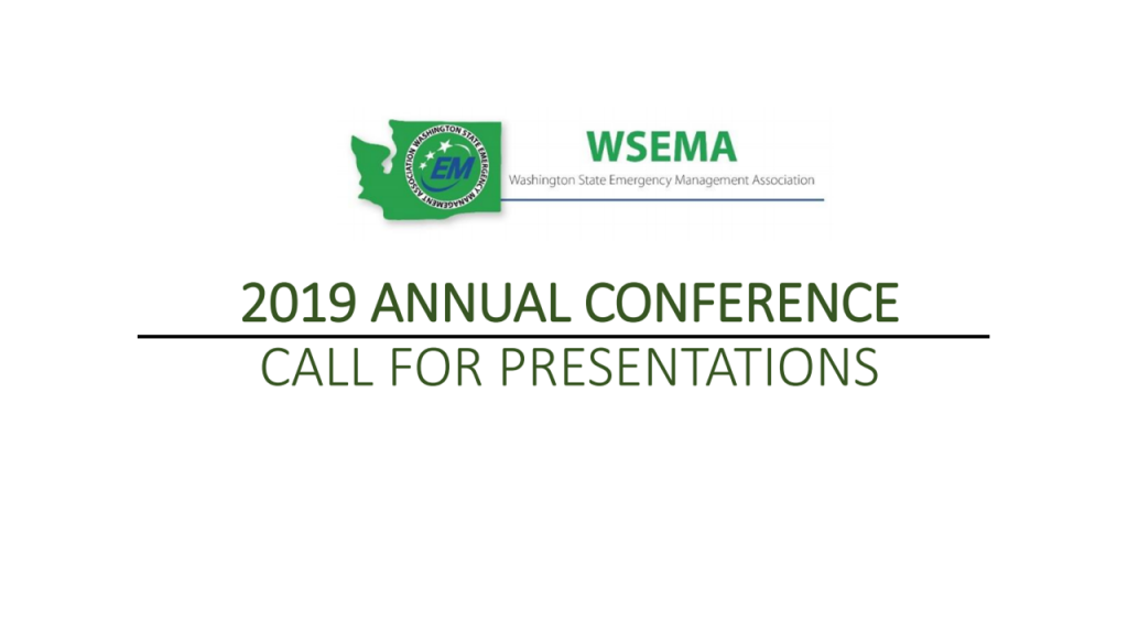 2019 Call for Presentations